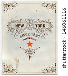 retro card | Shutterstock .eps vector #146061116