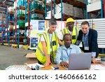 front view of mature african...   Shutterstock . vector #1460666162