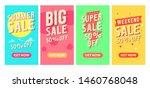 sale 50 percent off  phone...   Shutterstock .eps vector #1460768048
