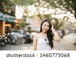 summer sunny lifestyle fashion... | Shutterstock . vector #1460775068