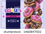 Invitation For Donuts Party ...