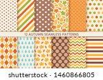 Autumn Pattern. Vector....