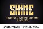 yellow chrome steel sports... | Shutterstock .eps vector #1460875052