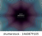 abstract colorful line neon...   Shutterstock .eps vector #1460879105