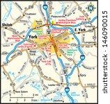 york  pennsylvania area map   Shutterstock .eps vector #146090015