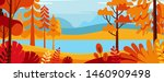 vector illustration in simple... | Shutterstock .eps vector #1460909498