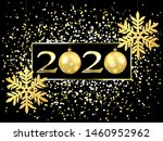plate with a gold frame  with... | Shutterstock .eps vector #1460952962