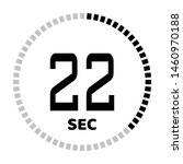 the 22 second countdown timer...