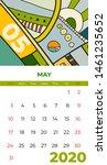 2020 May Calendar Abstract...