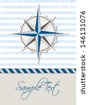 nautical background with... | Shutterstock .eps vector #146131076