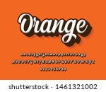 font. modern typography... | Shutterstock .eps vector #1461321002