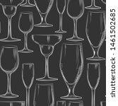 Hand Drawn Bar Glassware...