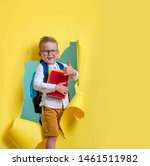 children go back to school....   Shutterstock . vector #1461511982
