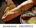 French Baguette Bread With...