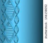 dna molecule structure... | Shutterstock .eps vector #146158052