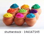 indian holi festival colours   Shutterstock . vector #146167145