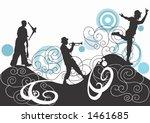 illustration of a juggler  a... | Shutterstock .eps vector #1461685