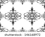 seamless wallpaper pattern | Shutterstock . vector #146168972