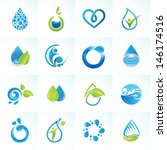 set of icons for water and... | Shutterstock .eps vector #146174516
