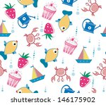 sea   wallpaper | Shutterstock .eps vector #146175902