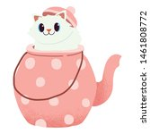 The Character Of Cute Cat...
