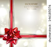 Elegant Holiday Background Wit...