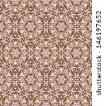 seamless mosaic pattern in skin ... | Shutterstock .eps vector #146197652