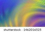 liquid multicolored wave.... | Shutterstock .eps vector #1462016525