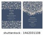 wedding invitation  save the...   Shutterstock .eps vector #1462031108