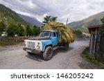 mestia   october 5  old russian ... | Shutterstock . vector #146205242