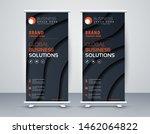 business roll up. standee... | Shutterstock .eps vector #1462064822