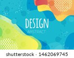 abstract colorful geometric... | Shutterstock .eps vector #1462069745