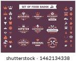 restaurant vintage vector for... | Shutterstock .eps vector #1462134338