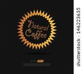 coffee symbol | Shutterstock .eps vector #146223635