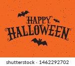 happy halloween vector... | Shutterstock .eps vector #1462292702