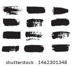 collection of paint strokes... | Shutterstock .eps vector #1462301348