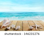 Boardwalk With Shells