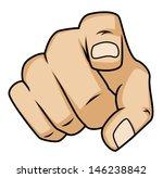pointing finger | Shutterstock .eps vector #146238842