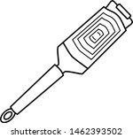 food grater in outline style... | Shutterstock .eps vector #1462393502