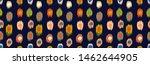 polka dot pattern. ikat... | Shutterstock .eps vector #1462644905