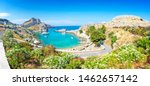 Lindos   Panoramic View Of St....