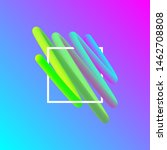 wavy geometric background.... | Shutterstock .eps vector #1462708808