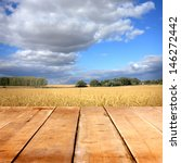 Agriculture Background With...