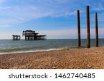 Old Ruined West Pier In...
