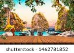 scenery thailand sea and island ... | Shutterstock . vector #1462781852