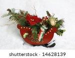 decorative sleigh - stock photo