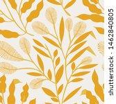 seamless vector floral pattern. ...   Shutterstock .eps vector #1462840805