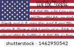 we the people american flag... | Shutterstock .eps vector #1462950542