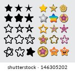 Stars Symbol. Thirty...