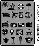 holidays  icon vector | Shutterstock .eps vector #146307485